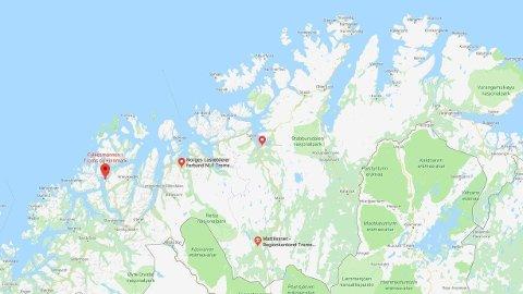 VIL OPPHEVE SAMMENSLÅINGEN: Arbeiderpartiet, Senterpartiet og Sosialistisk Venstreparti vil jobbe for å oppheve den kontroversielle tvangssammenslåingen av Troms og Finnmark.
