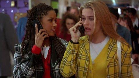 Her er Alicia Silverstone og Stacey Dash sammen i filmen Clueless.