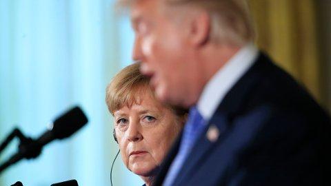 ACHTUNG BABY: Tyskland lider som følge av Trumps handelskrig med Kina.
