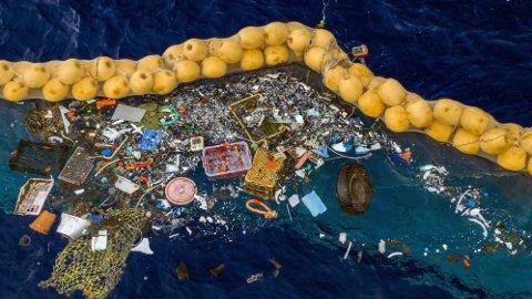The Ocean Cleanup skal kunne rydde havet for tonnevis av plast.