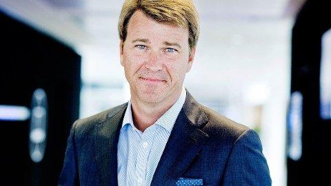GJENNOMFØRER KUTT: Ander Jensen i Nent gjennomfører store kutt i organisasjonen.