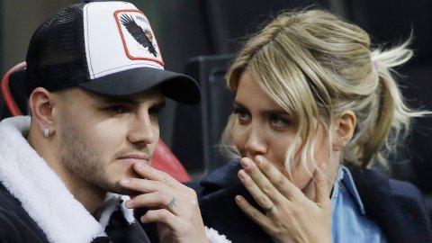 SUPERPARET: Mauro Icardi og Wanda Nara er nå i Paris, etter en lang sommer med spekulasjoner.