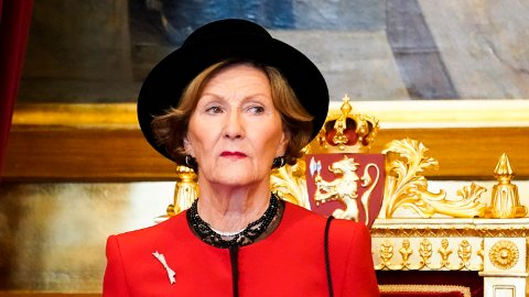SYK: Dronningen har måtte avlyse jobb i Kristiansand på grunn av sykdom.