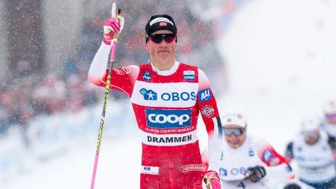 SPRINTER: Johannes Høsflot Klæbo anses som en av de raskeste i langrennssirkuset. Flere håper at nordmannen vil stille opp på den nye supersprinten.