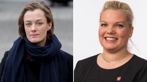 Anette Trettebergstuen (Ap) svarer på tiltalen fra Silje Hjemdal (Frp).