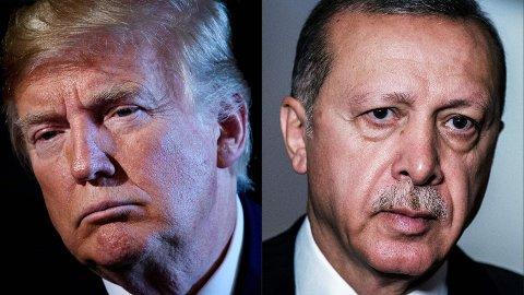 Forholdet mellom USAs president Donald Trump og Tyrkias president Recep Tayyip Erdogan har tilspisset seg ytterligere den siste uken.