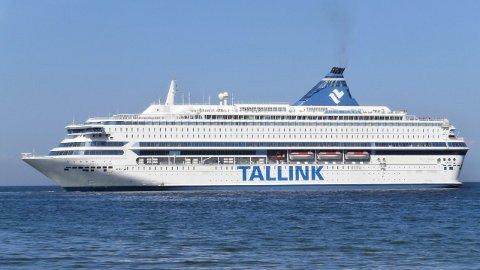 ESTLANDSK FERGE: Silja Europa er en av verdens største cruiseferger. Den opererer strekningen Helsinki-Tallin.