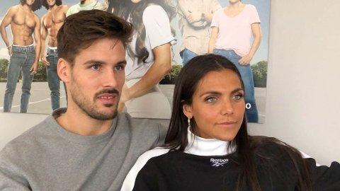 KRITIKK: Jørgine Massa Vasstrand er ikke fornøyd med VGs anmeldelse av hennes nye realityserie «Funkyfam». Her sammen med ektemannen Morten Sundli.