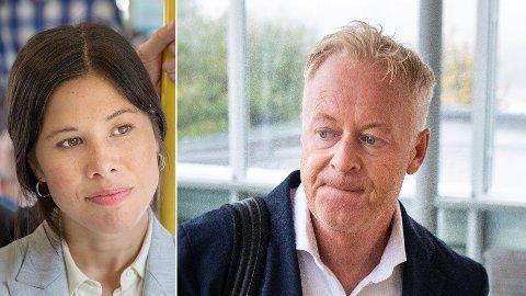 - PINLIG: Det mener tidligere Veireno-sjef, Jonny Enger (t.h.) om byråd Lan Marie Bergs 2017-uttalelser.