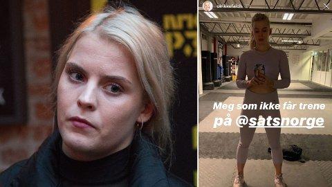 IKKE DISKRIMINERIG: Ulrikke Falch er i mot Sats Norge sine nye klesregler, men mener det blir feil å kalle det diskriminering.