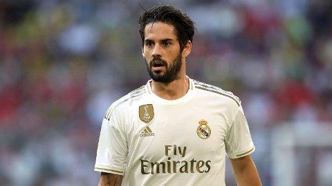 SPANSK STJERNE: Real Madrids Isco er en attraktiv mann for flere Prmeier League-klubber