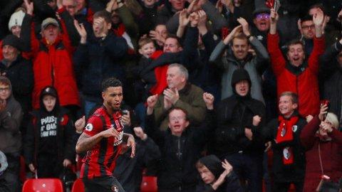 KONGEN: Joshua King-mål var nok til å senke Manchester United på lørdag.