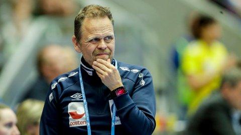 VÆRT I TENKEBOKSEN: Landslagssjef Thorir Hergeirsson.