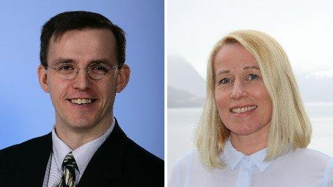 Jan Emblemsvåg og Marianne Synnes Emblemsvåg.