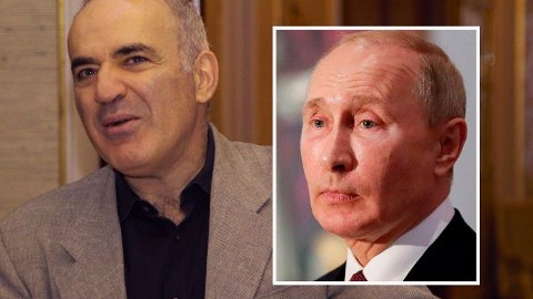 ADVARER NORGE MOT PUTIN: Hvis Putin virkelig vil, kan han ødelegge for Norge, advarer sjakklegenden Garri Kasparov.