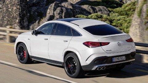 Mercedes GLE Coupé lanseres i disse dager. En ladbar hybrid av utgaven er også på vei.