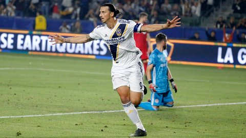 Zlatan skårte 52 ligamål på to sesonger i MLS. Nå er han klar for nye utfordringer.