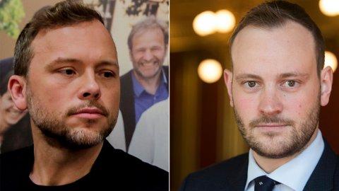 KJEFT: Finanspolitisk talsperson Sivert Bjørnstad (Frp) t.h. mener SVs «grønne ny deal» er en dårlig deal for folk flest.