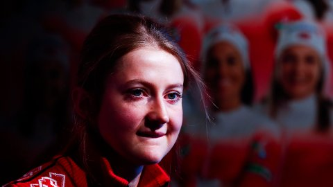 TOK TIL TÅRENE: Ingvild Flugstad Østberg bekreftet torsdag at hun ikke stiller til start under verdenscupåpningen.