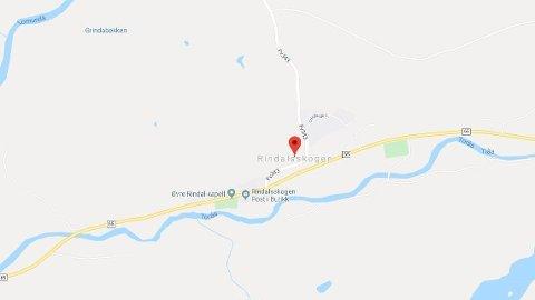 ULYKKE: Flere biler har vært involvert i en trafikkulykke ved Rindalsskogen i Møre og Romsdal.