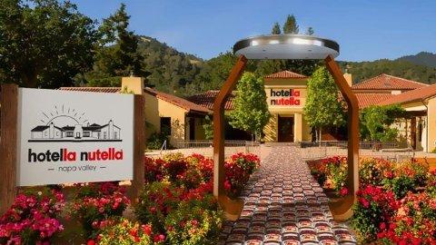 IKKE LENGE: Nutella-hotellet åpner dørene i januar.