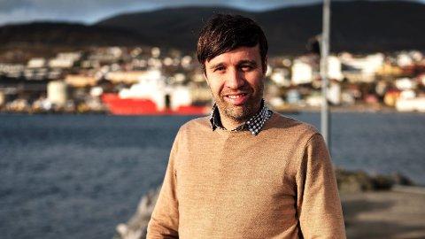 NY AVIS: Sjefredaktør Arne Reginiussen går fra rollen som sjefredaktør i Finnmark Dagblad til den nye avisen Nidaros i Trondheim ved nyttår.