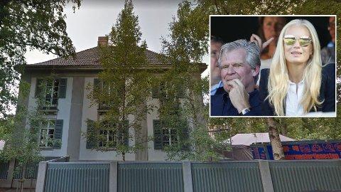 FLYTTET HJEM: Celina Midelfart kjøpte sitt townhouse på beste Frogner i 2001, flere år før hun flyttet til Tor Olav Trøim i London. Nå har hun flyttet hjem igjen.