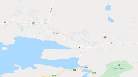 ULYKKE: Én person har blitt hentet av luftambulanse etter en kollisjon i Skodje i Møre og Romsdal.
