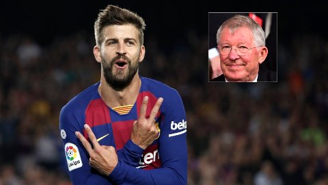 AVSLØRER: Barcelona-stjernen Gerard Piqué hadde en tøff tid som Manchester United-spiller, og kom flere ganger i klinsj med Sir Alex Ferguson.