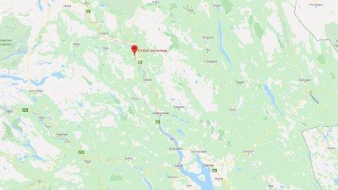 ULYKKE: Det var i alpinanlegget i Kvitfjell at to personer kolliderte søndag ettermiddag.