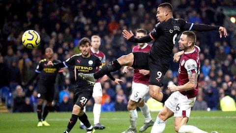 I FORM: Gabriel Jesus vartet opp med to scoringer for Manchester City.