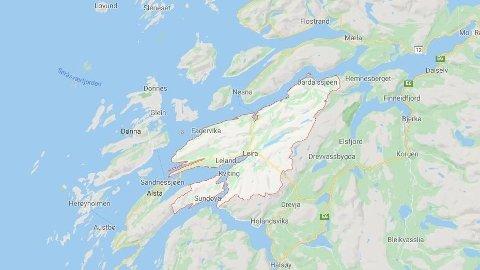 ARBEIDSULYKKE: Fire personer på Helgeland har blitt skadd i en arbeidsulykke, og kan ikke hentes før tidligst på torsdag.