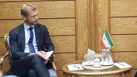 Lars Nordrum er Norges ambassadør til Teheran i Iran.