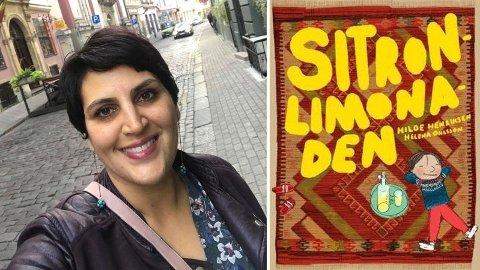 FREMSNAKKER UTSKJELT BOK: Nisrin Maktabi Barkouki har ofte vist fram «Sitronlimonaden» som en god bok for tokulturelle barn og unge.