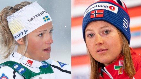 TO TILFELLER: Kommende helg går Østberg glipp av nye verdenscupkonkurranser som følge av at hun ikke har oppfylt kravene som stilles i skiforbundets helseattest. Mandag kveld kom nyheten om at svenskenes Frida Karlsson også har fått startnekt i verdenscupen som følge av at hun ikke har oppfylt helsekravene.
