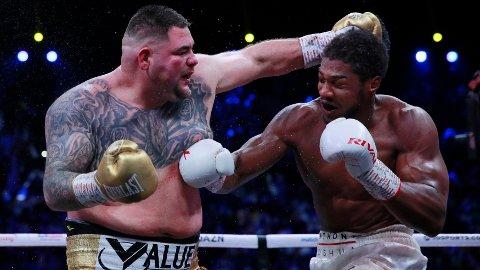 IKKE GOD FORM: Andy Ruiz' form ble sterkt kritisert i forkant av kampen mot Anthony Joshua.