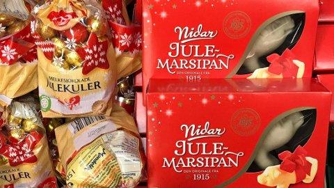 JULEVARER: Det er priskrig på flere julevarer i butikkjedene for tiden. Illustrasjonsfoto.