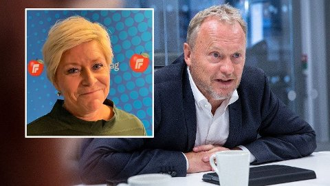 Siv Jensen likte dårlig Raymond Johansens gambling-utspill. Nå svarer finansministeren med samme mynt.