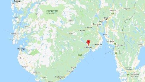 GULLSMEDRAN: En tyv kom seg unna med smykker og diamanter for en ukjent verdi da de brøt seg inn i en gullsmedforretning i Porsgrunn natt til mandag.
