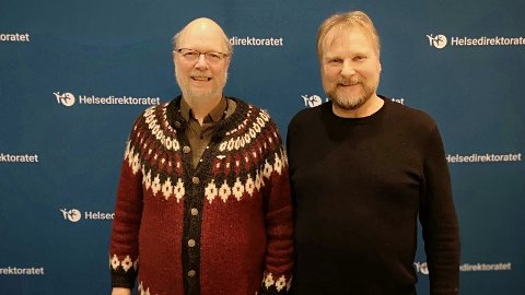 Jón Ágúst Einisson (t.v.) og Jan-Magne Tordenhjerte Sørensen.