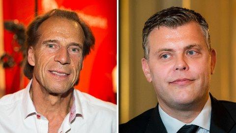 Jan Bøhler (Ap) og Jøran Kallmyr (Frp).