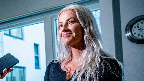 SNAKKET VG IMOT: Sofie Bakkemyr gikk ut i TV 2 og sa at hun var feilsitert av VG. Kampen om sannheten ble en stor belastning for kvinnen, som til slutt vant både i PFU og mottok erstatning fra VG.