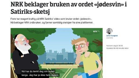 IKKE FELT: NRK ble ikke felt i PFU etter denne videoen.
