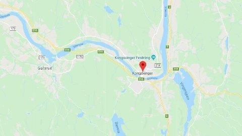 ULYKKE: Det har vært en utforkjøring i Austmarka på Kongsvinger.