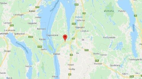 DØDSULYKKE: Én person omkom etter en frontkollisjon i Frogntunnelen ved Drøbak.