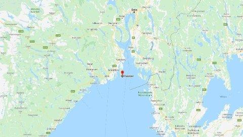 SAVNET: En brettseiler var savnet ved Hvasser i Vestfold.