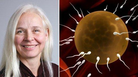 LEDET STUDIEN: Anita Öst ved universitetet i Linköping ledet studien som viser at kosthold har en stor og umiddelbar effekt på sædkvaliteten.