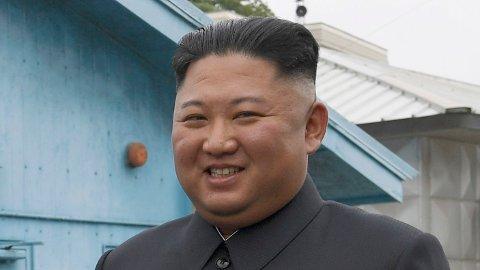 USAs president Donald Trump og Nord-Koreas leder Kim Jong Un da de møttes i grensebyen Panmunjom i den demilitariserte sonen i Sør-Korea. Foto: Susan Walsh / AP / NTB scanpix