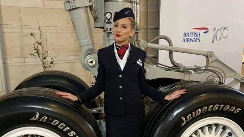 AKKURAT FULLFØRT: Rachel Clark var akkurat fått jobb som flyvertinne da hun døde i en bilulykke.
