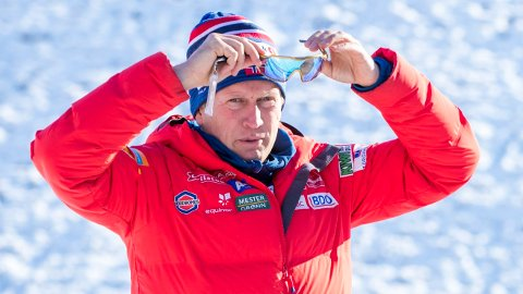 RINGT OPP AV FIS-DIREKTØR: Langrennssjef i Norges Skiforbund Espen Bjervig.